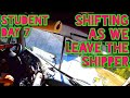 Truck Driving Student - Day 7 - Shifting A Manual As We Leave The Shipper