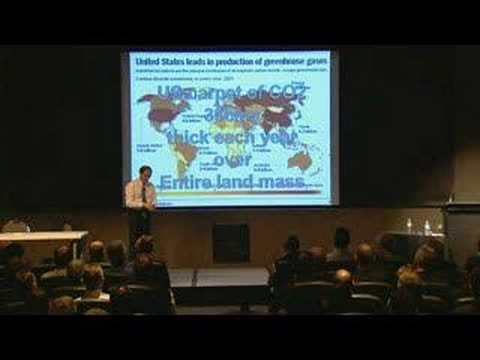 Global Warming: Carbon emissions in America and Australia CO2 - keynote conference speaker