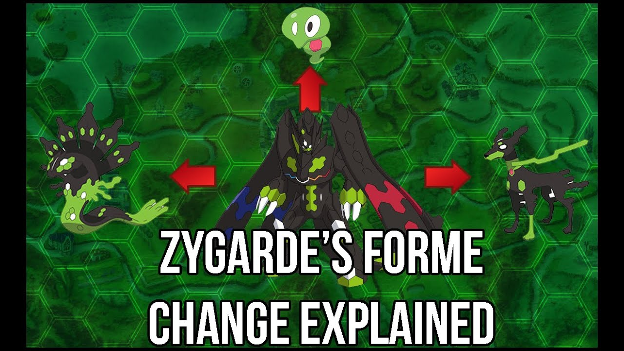 The Gimmick Behind Zygarde's New Formes! - Pokemon Theory - YouTube