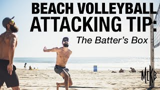 Beach Volleyball Attacking Tip - The Batter