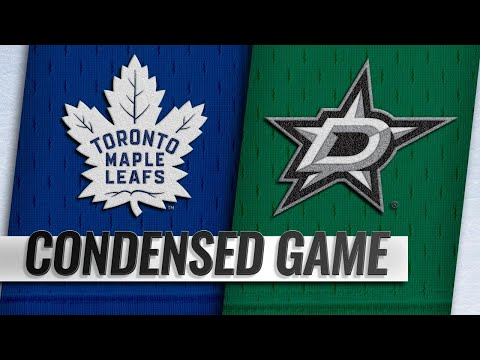 10/09/18 Condensed Game: Maple Leafs @ Stars