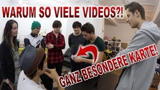 WARUM SO VIELE VIDEOS?! | BESONDERE KARTE mit Julien Bam, iBlali, Rewi, Jodie, Vincent, Joon Kim