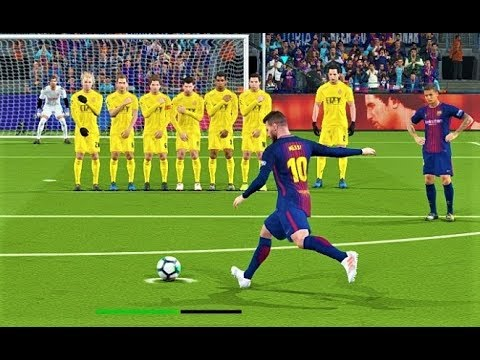 Barcelona vs Girona 2018 | Messi 2 Goals | Full Match | PES 2018 Gameplay HD
