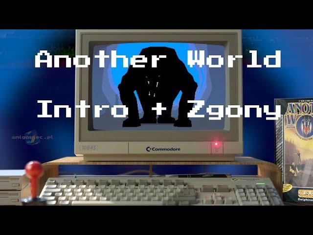 Amiga intro Another World i Jak profesjonalnie ginąć w Innym Świecie