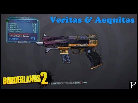 Borderlands 2: Veritas & Aequitas (Unique weapons #15)