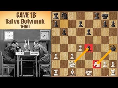 Here I come! | Tal vs Botvinnik 1960. | Game 18