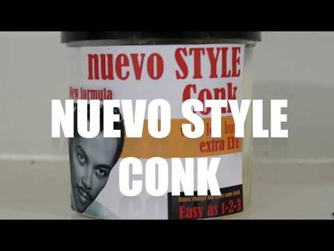 """Laugh while I try a new hair style """"CONK Hair Kit"""" (MENS HAIR TUTORIAL)"""