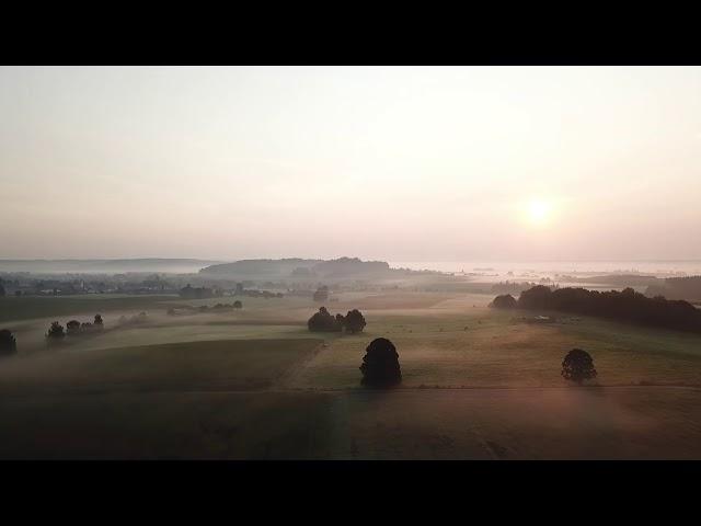 Rundflug Herbst 2020 Sonnenuntergang