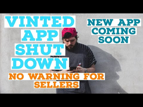 WHY THE VINTED APP WENT DOWN - NO WARNING TO SELLERS - NEW APP COMING - FULL TIME RESELLER