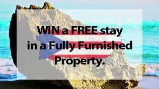 Win a 4 day FREE vacation stay in Puerto Rico #PuertoRicoProperty