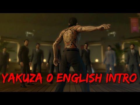 Yakuza 0 - English Intro