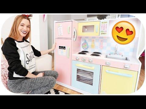 ❥ 258 - [ review jouet ] : la cuisine de mila ! 😍 - youtube