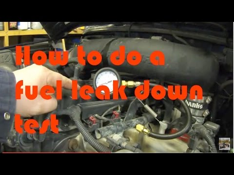 Jeep Wrangler Diesel >> How to do a Fuel Pressure and Leak down test - YouTube