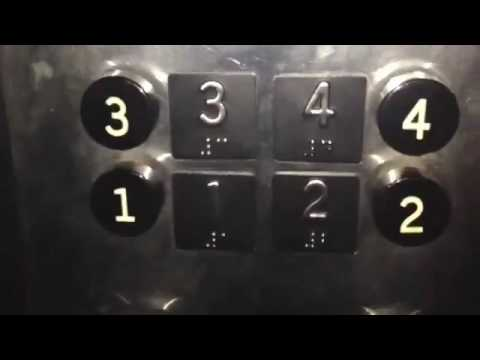Vintage Otis elevator at the Capital bank in downtown kingsport TN