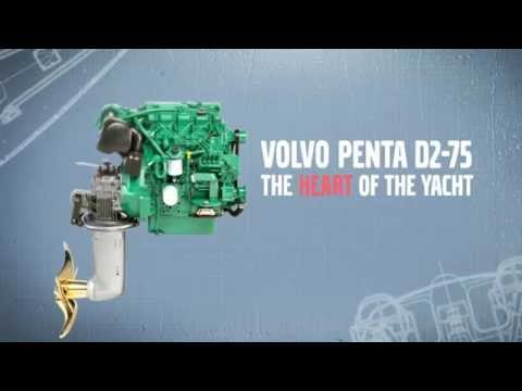 Volvo Penta yacht engine for Volvo Ocean Race