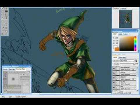 Open Canvas Animation - Twilight Princess: Link