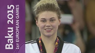 Charlie Maddock is victorious after a dramatic golden point | Taekwondo | Baku 2015
