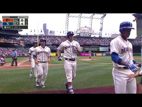 Smith Launches A Grand Slam To Right-center