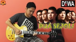 Tutorial Belajar Gitar Melodi Dewa - Dua Sejoli (Guitar Lesson By Sobat P)