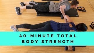 40-Minute Total Body Strength …