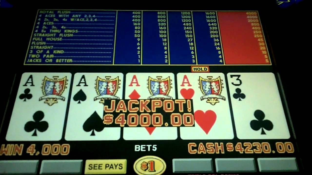 Best video poker in vegas 2016 poker hands wiki