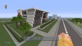 Minecraft - présentation d'une ville moderne / mon gfx perso ??