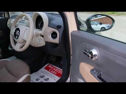 Fiat 500 1.2 Cult Dualogic Auto Sunroof Full Leather Climate