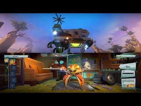 Plants Vs Zombies Garden Warfare 2 Split Screen Part 1 Xbox One S Youtube