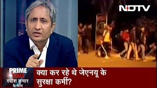 Prime Time With Ravish, Jan 06, 2020 | What Caused The Violence At JNU And Who Are The Attackers?