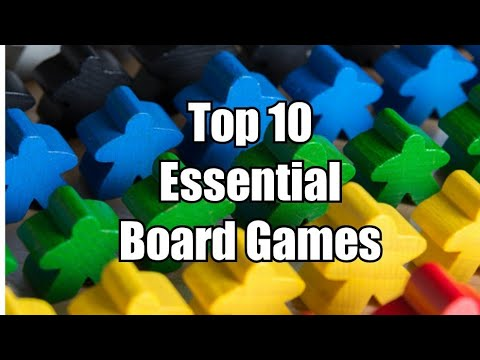 Top 10 Essential Board Games - Chairman Of The Board