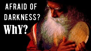 Sadhguru - pain of not knowing; in the lap of nothingness.