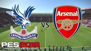 Crystal Palace vs Arsenal - Premier League 2018/19 Season - PES 2019
