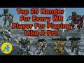 War Robots:- Top 25 Hanger Setup For Every WR Player|| War Robots 2017