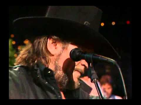 Waylon Jennings Live in Austin, Texas. April 1, 1989