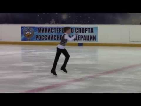 Rostelecom Crystal Skate 2015  Boys, Advanced Novices  КП 5 Semen BASS RUS