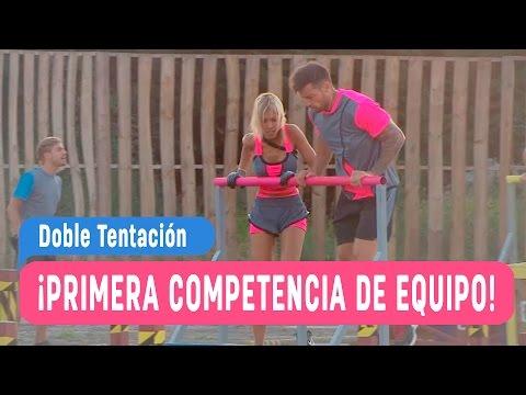 Doble Tentación - ¡Primera competencia de equipos! - Capítulo 3 / Mega