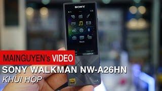 Khui hộp máy nghe nhạc Sony Walkman NW-A26HN - www.mainguyen.vn