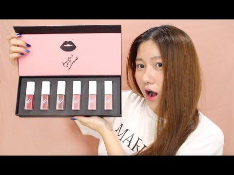 SWATCH & REVIEW M.O.I Cosmetics | Ho Ngoc Ha's Secret
