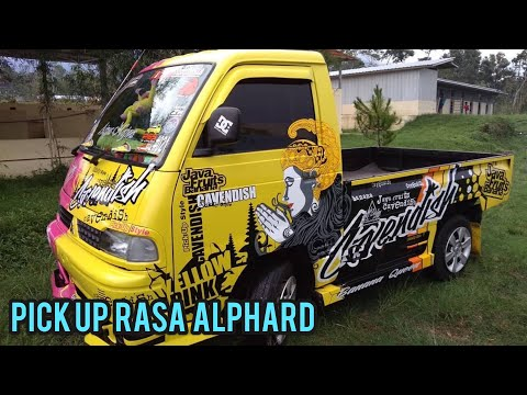 Kumpulan Modifikasi Mobil Pick Up Indonesia #1