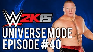 "WWE 2k15 Universe Mode: #40 ""First Round Matches"""