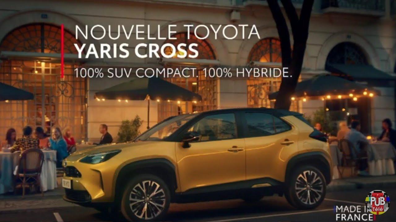 "Musique de la pub Toyota Yaris Cross 100% SUV compact 100% hybride made in France ""hello hybrid happiness""  2021"
