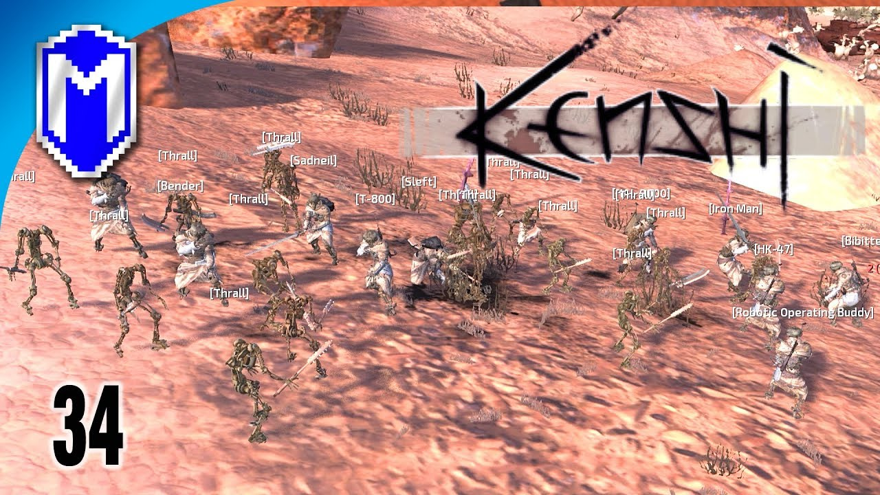 Building A Thrall Army, Recruiting Thralls - Let's Play Kenshi Mods  Gameplay Ep 34