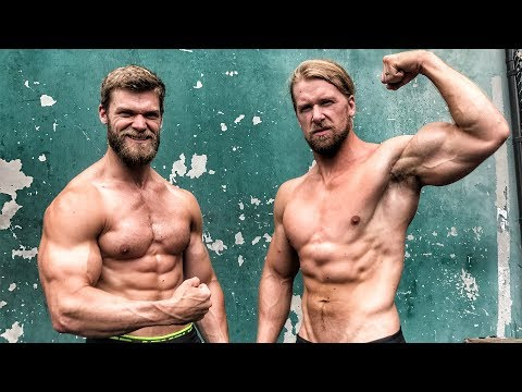Chest & Triceps at The Mecca - Buff Dudes Let's Workout