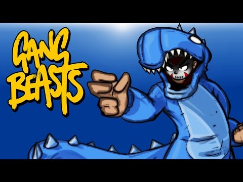 Gang Beasts Ep. 1 (Funniest Game Ever!) Online Multiplayer Beta