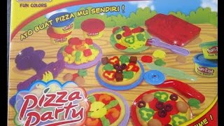 Bermain mainan Fun Doh Pizza Party