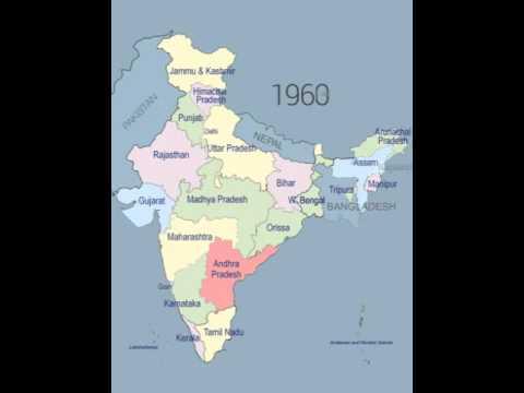 Indian states year