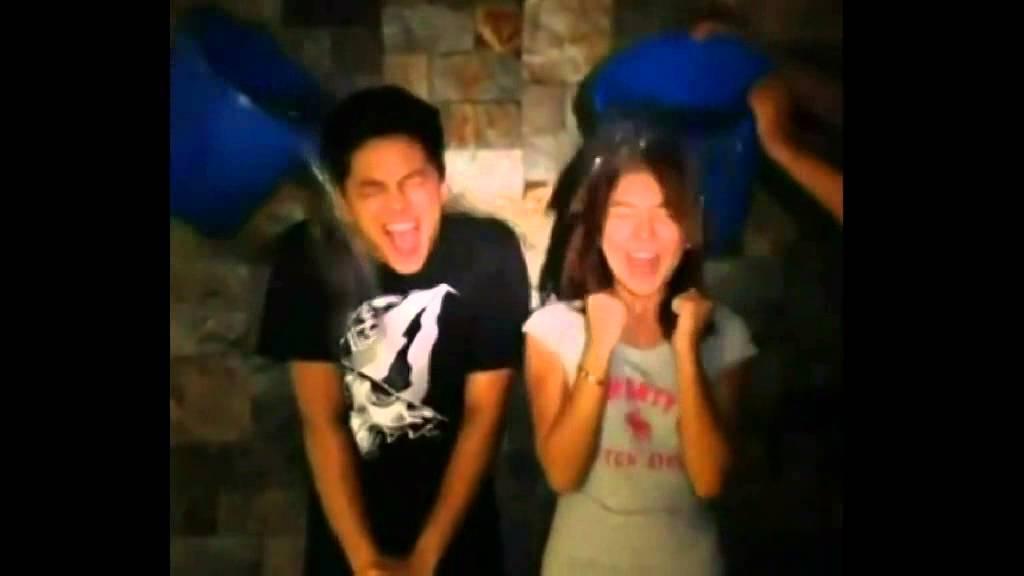 Ice Bucket Challenge Filipino Love Team & Real Life Lovers Compilation