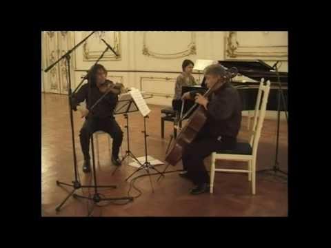 Alfred Schnittke: Piano Trio- Adagio Live performance of Amael Piano Trio at Forfest