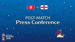 fifa world cup 2018 tunisia v england - post-match press conference