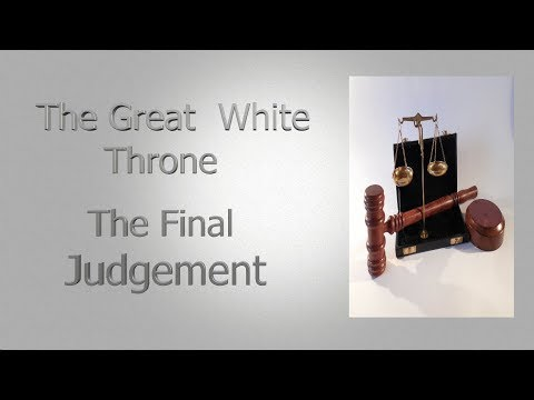 The Great White Throne - Revelation 20 - Dr Mark Hitchcock
